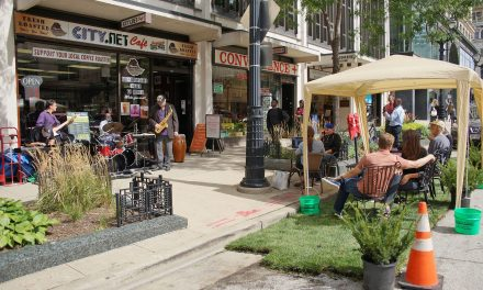 PARK(ing) Day 2018 transforms downtown parking spaces in vibrant recreation spots