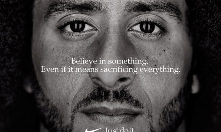 Colin Kaepernick takes a stand in new Nike campaign