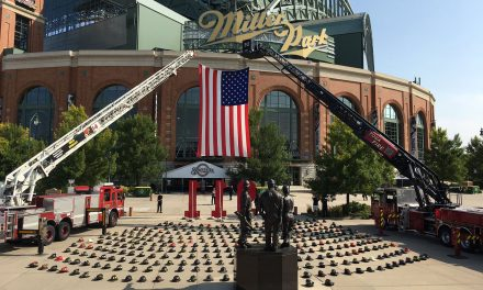 Milwaukee Brewers join MLB's league-wide observance of 9/11