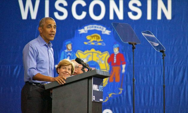 Former President Obama urges voter turnout in Milwaukee at speech condemning Trump's policies
