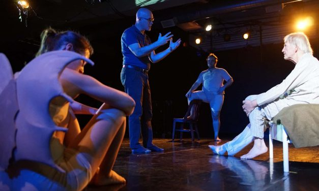 Danceworks brings handcrafted wooden figures to life in historical production