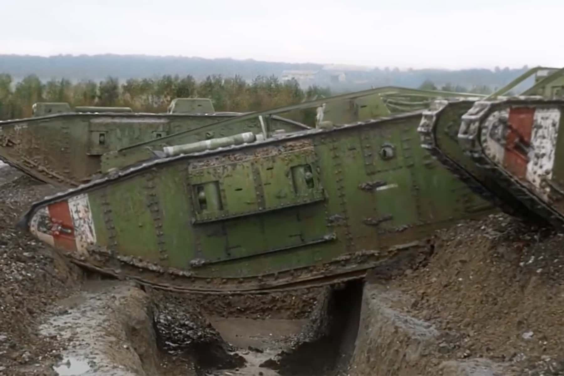 Restored trench warfare footage brings WWI memories back to life for