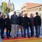 Rainbow crosswalks installed downtown to honor Milwaukee's LGBT community