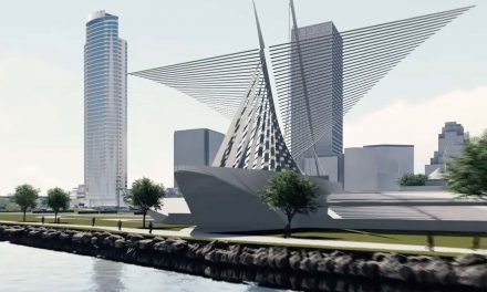New flyby rendering video released to visualize The Couture on Milwaukee's Lakefront