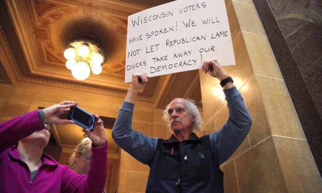 Photo Essay: Documenting the days that saw the death of democracy in Wisconsin