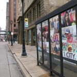 Downtown bus shelters transformed with artwork as beautification project expands