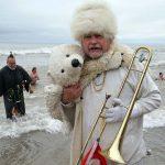 Lake Michigan's freezing waves wallop participants at 2019 Polar Bear Plunge