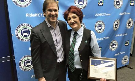 Irena Ivic: MCTS Driver honored for rescuing lost baby on freeway overpass