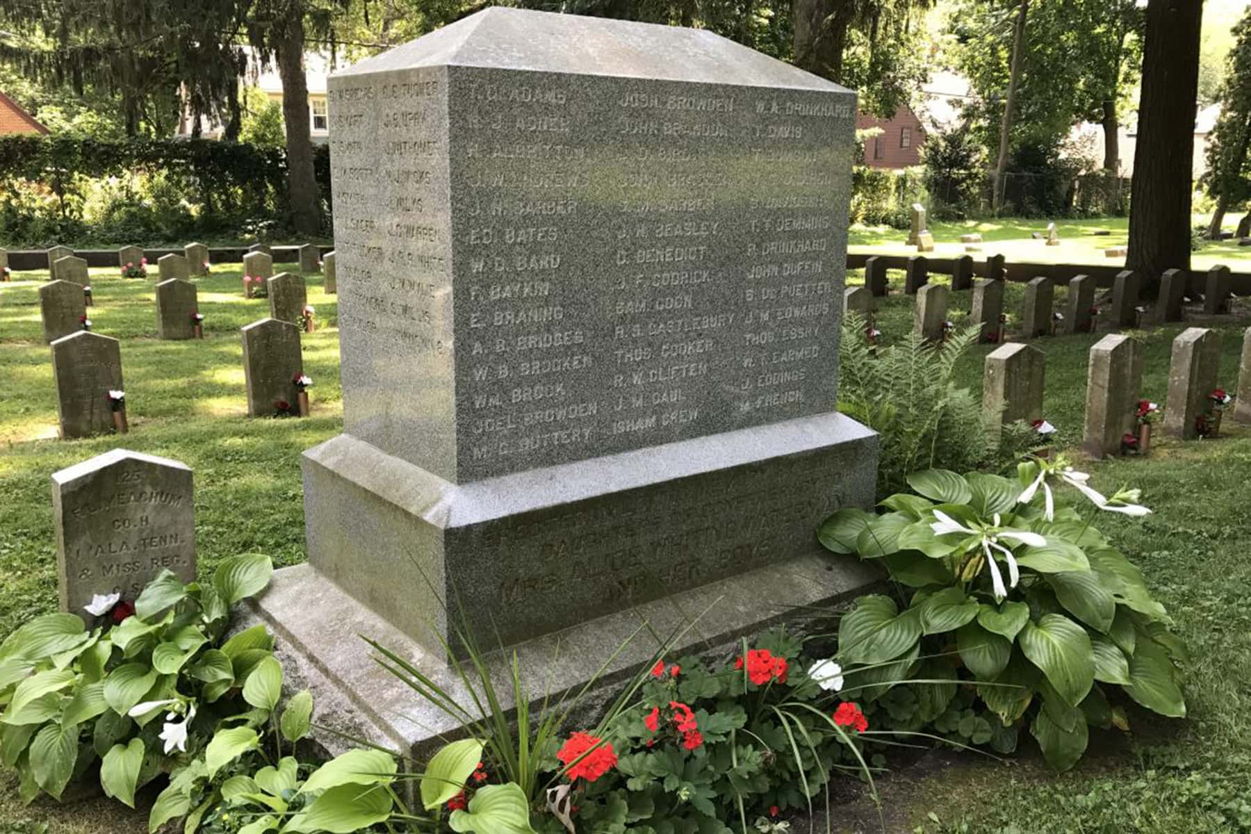 Confederate monument placed in storage at Wisconsin Veterans