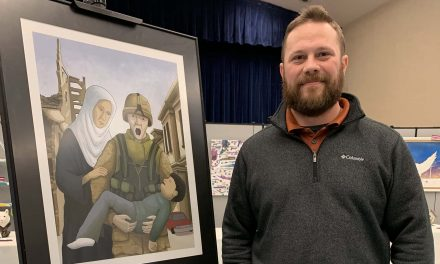 Hearts and Minds: Depiction of grim reality from Iraq War wins VA art competition