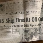 Unearthed time capsule travels back to Milwaukee and confirms legend about Clement J. Zablocki