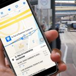 The Hop offers real-time data for riders to track next streetcar arrival at stations