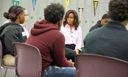 Michelle Obama takes break from book tour for intimate conversation with Milwaukee students