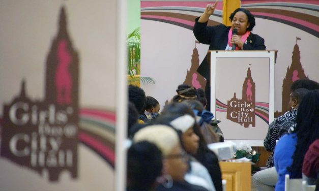 """""""Girls' Day at City Hall"""" shows students career paths in public service and leadership roles"""