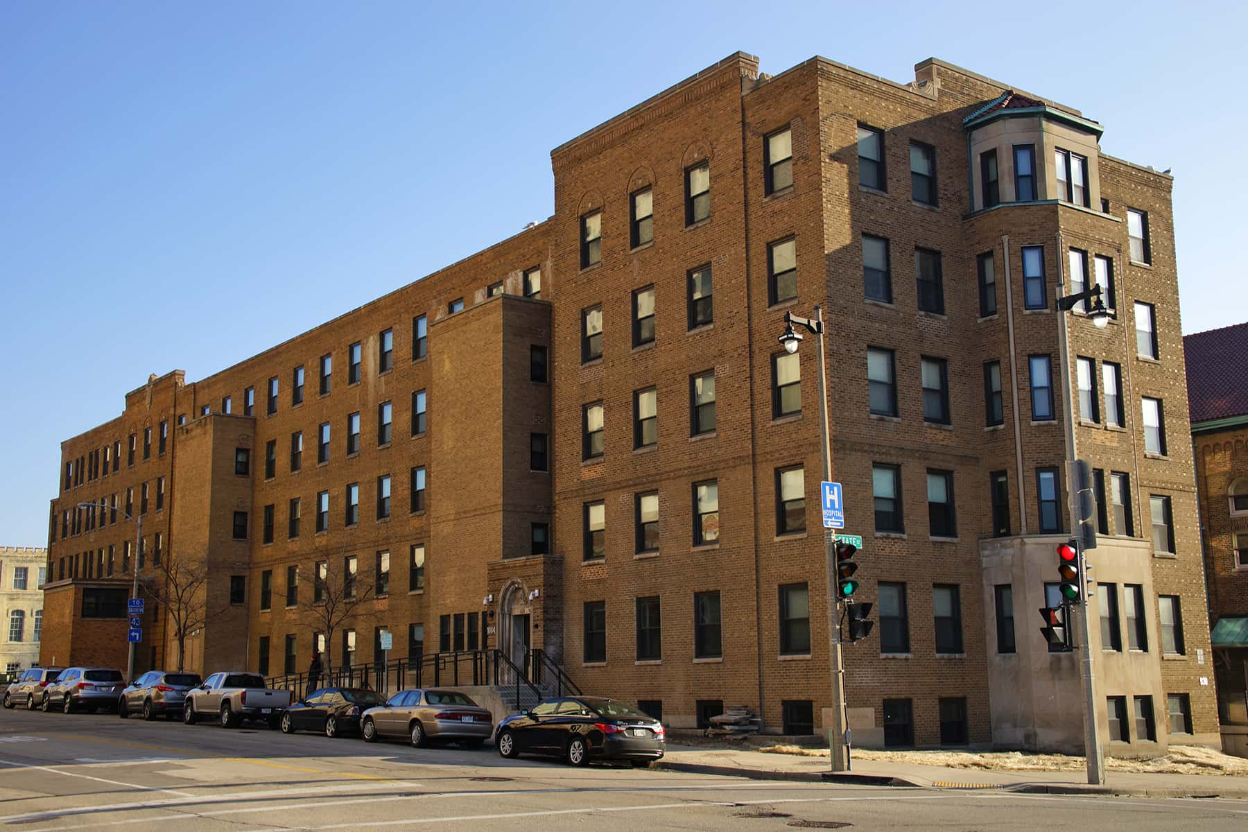 Former St Anthony S Hospital Transformed Into Apartments And Resource Center For The Homeless