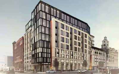 """Huron Building"" selected in naming contest for North Broadway development project"
