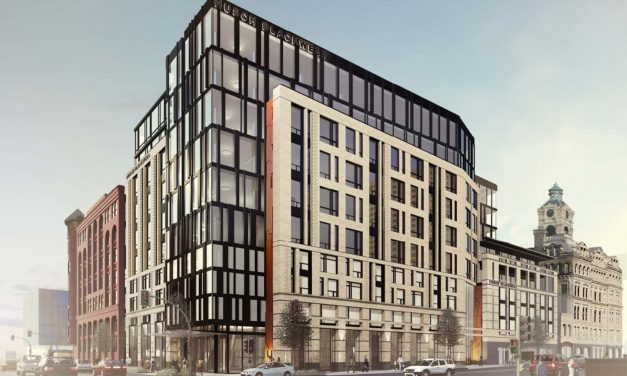 """""""Huron Building"""" selected in naming contest for North Broadway development project"""