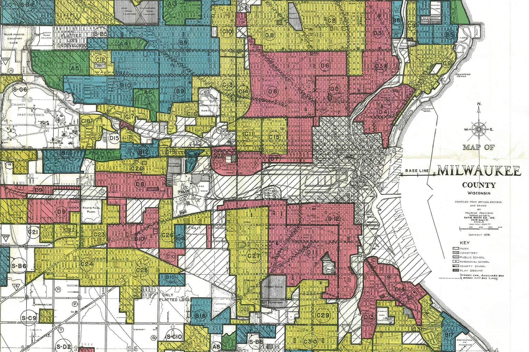 Map Of Americas Racial Segregation.The Legacy Of Milwaukee S Redlining Continues To Shape Racial