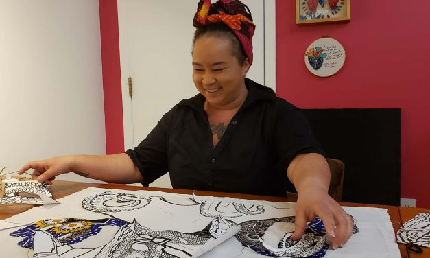 Rosy Petri: Sewing dignity as the new Pfister Artist-In-Residence