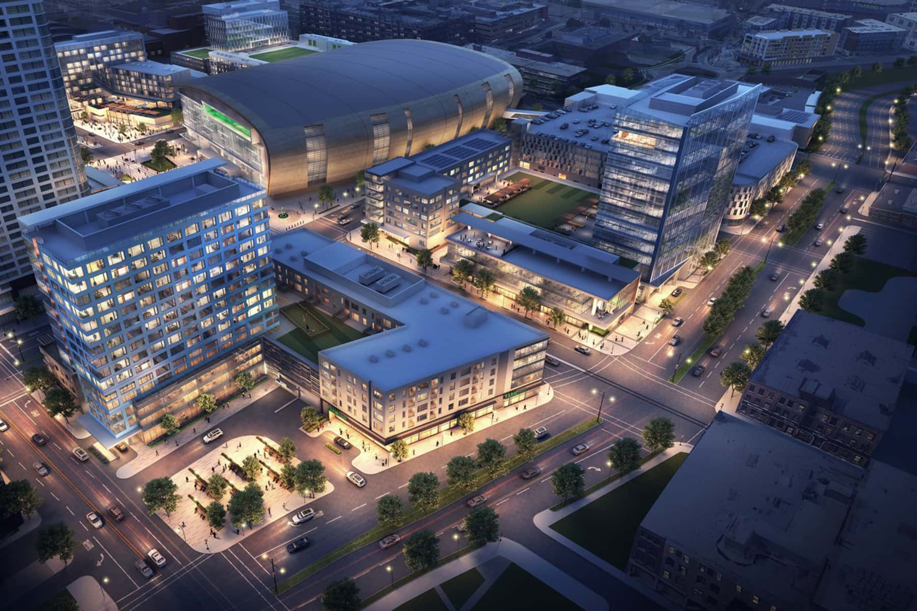 Deer District: Fiserv Forum anchors Milwaukee's newest 30