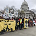 """Day Without Latinxs & Immigrants"" strike calls for statewide restoration of driver licenses"