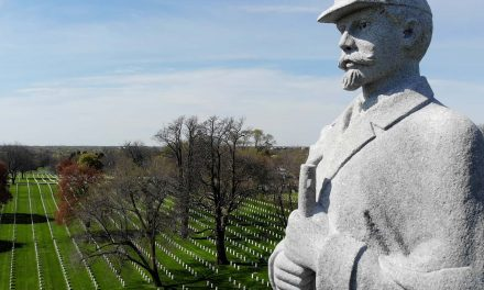 Sentinel from 1903 remains on guard over Milwaukee's fallen soldiers and sailors