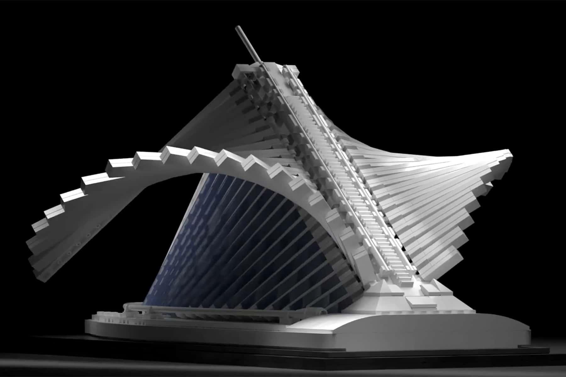 LEGO design contest aims to bring replica of Calatrava's Art Museum