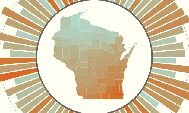 Interactive map visualizes Wisconsin's health disparities by county
