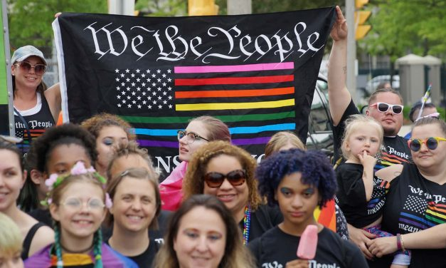 A Million Moments of Pride: Families and rainbows fill route for Milwaukee's 2019 LGBT parade