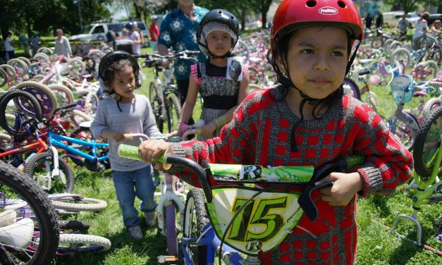 Southside Bicycle Day brings hundreds of free bikes and health education to local children