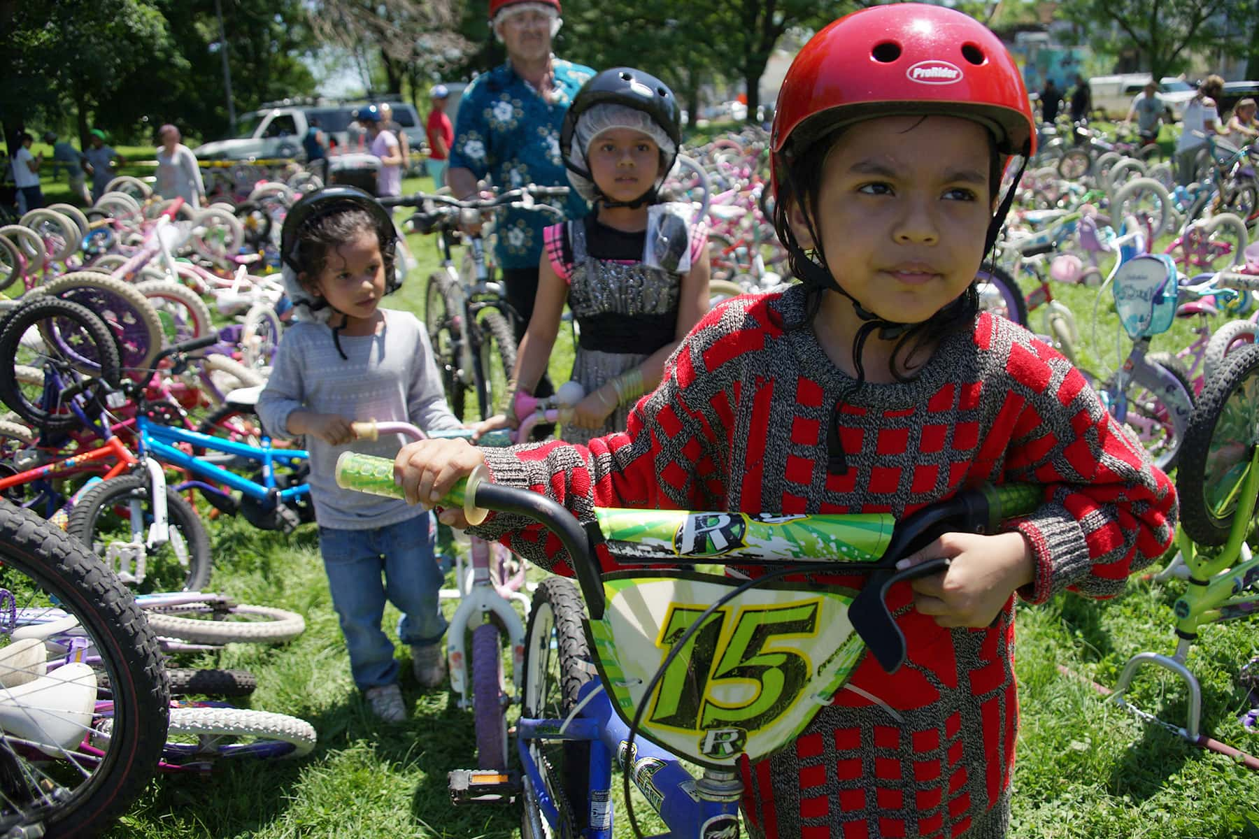 Southside Bicycle Day brings hundreds of free bikes and