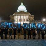 Calculating the political divide between Wisconsin's Democratic and Republican legislators