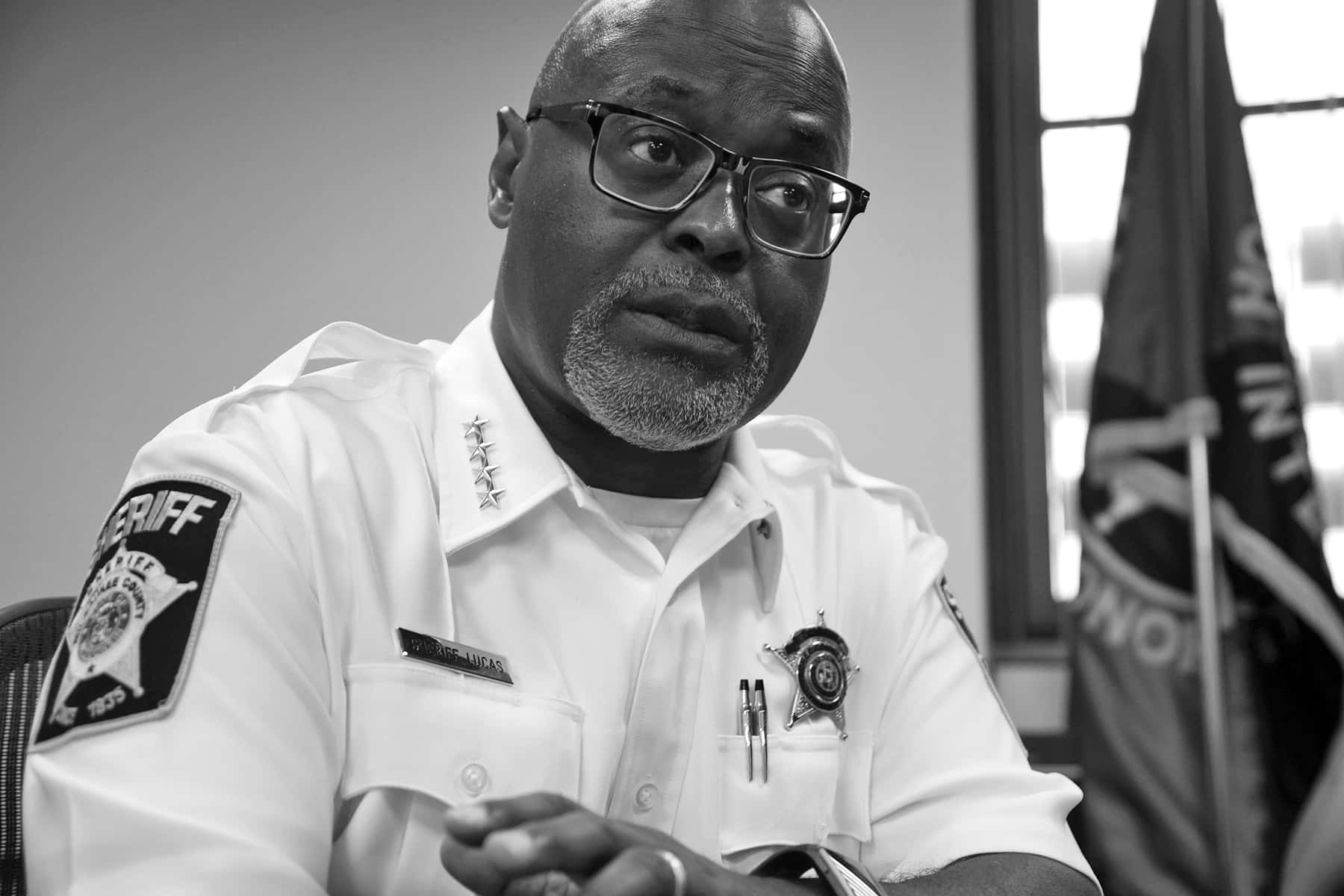 Earnell Lucas: A Day in Photos with the County Sheriff | The
