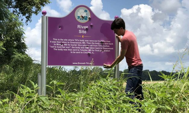 Students posing with guns at shot-up Emmett Till Memorial face Civil Rights investigation