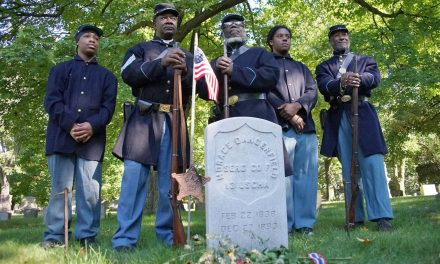 Unmarked graves of two Milwaukee Civil War veterans get headstones during 2019 Doors Open