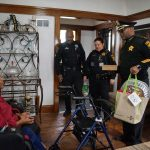 Spirit of Thanksgiving: Sheriff Earnell Lucas and MCSO Deputies deliver holiday dinners to local families