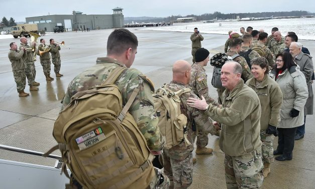 """Guardian Angel"" battalion returns home to Wisconsin after one year deployment in Afghanistan"