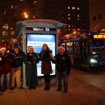 "MCTS ""elves"" surprise riders with holiday cheer at bus stops around Milwaukee"