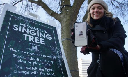 Music, technology, and Christmas cheer combine at Cathedral Square Park to help end homelessness
