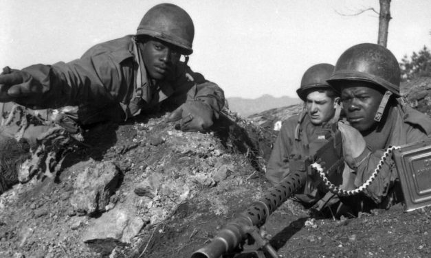African-American soldiers fought for democracy overseas and freedom at home