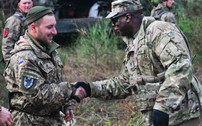 """Wisconsin National Guard's """"Red Arrow"""" brigade begins multinational deployment for Ukraine mission"""