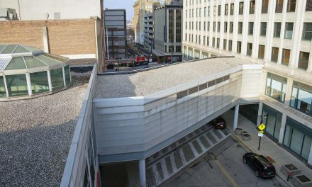 South-facing facade of Downtown's 2nd Street Skywalk to become newest canvas for public mural