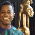 """Seated Warrior"" sculpture by artist Sanford Biggers makes new home at America's Black Holocaust Museum"