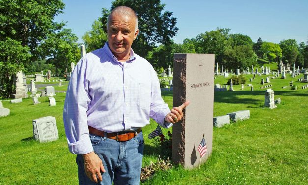 """John McGivern brings his show """"Around the Corner"""" to Story Hill's Calvary Cemetery for Season 9"""