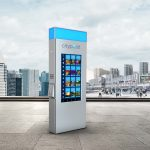 The Hop unveils CityPost digital kiosks to provide real-time route info and civic amenities