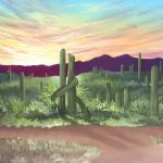 "Rise and Thrive: A ""Lives in Landscape"" Series – Saguaro"