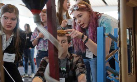 "Rube Goldberg contest challenges Wisconsin students to ""Turn Off A Light"" with a complex machine"