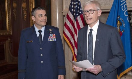 Paul Knapp promoted to Major General when sworn in as commander of Wisconsin National Guard