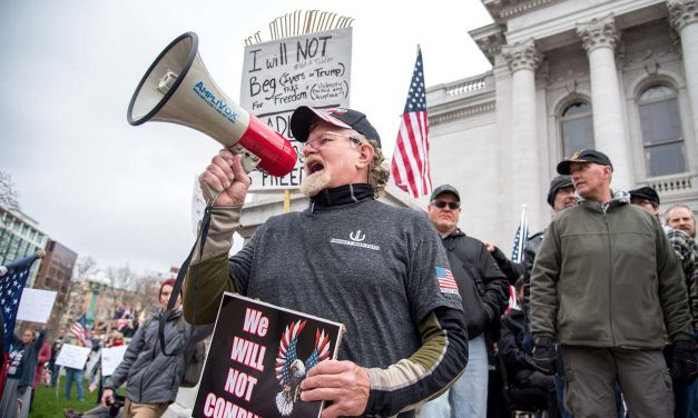 Trump supporters stage rally in Madison to promote their right to die and get everyone sick with COVID-19