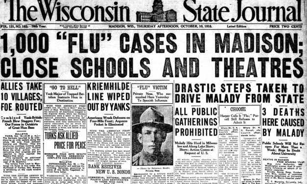 Clues to Wisconsin's coronavirus future can be found by revisiting a past pandemic